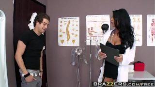 Brazzers – Doctor Adventures – Take Up Thy Stethoscope And Fuck scene starring Jessica Jaymes and Xa